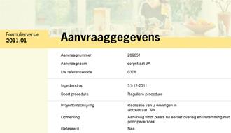 Vergunning container amsterdam